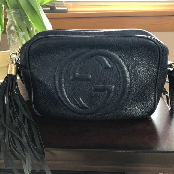 Gucci Handbags - Gucci Crossbody Black